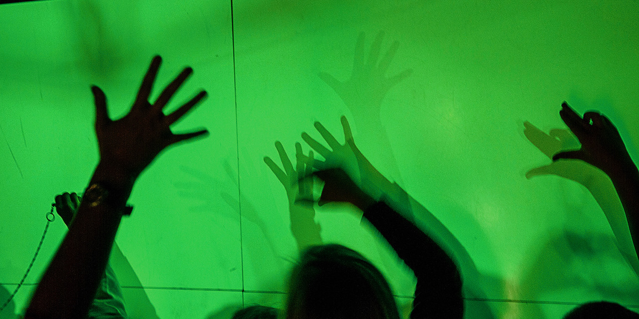 Lukas Lichtwerkstatt 2012 im Kindermuseum Nürnberg.
