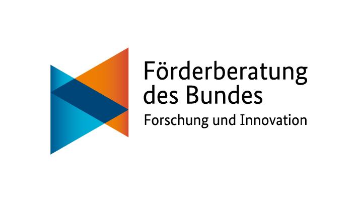 Logo: Förderberatung des Bundes - Forschung und Innovation
