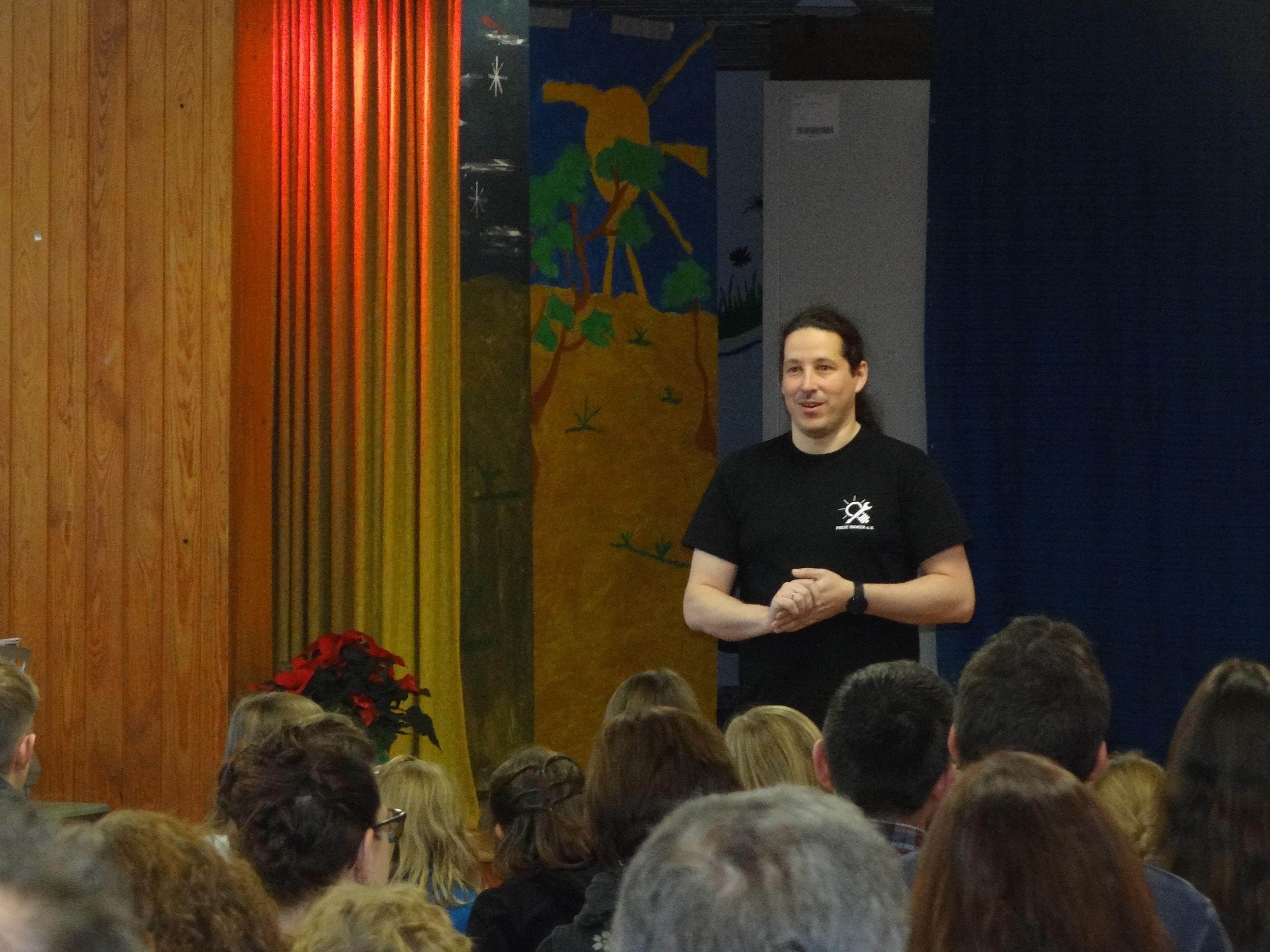 Maker Mario Lukas erzählt über seine Schulzeit